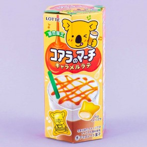 Lotte Koala's March Caramel Latte Cookies