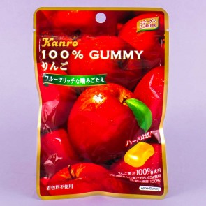 Kanro 100% Gummy - Apple