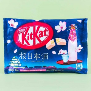 Kit Kat Sakura Japanese Sake Chocolates