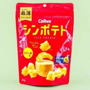 Calbee Thin Potato Chips - Light Salt