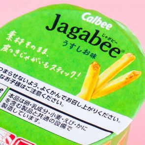 Jagabee Light Salt Potato Snacks