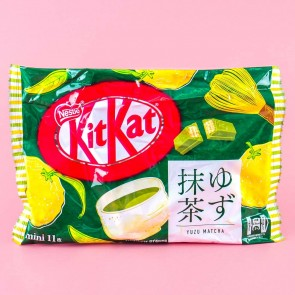 Kit Kat Yuzu Matcha Chocolates