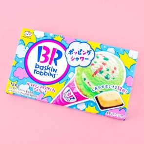Fujiya Baskin Robbins Popping Shower Chocolate