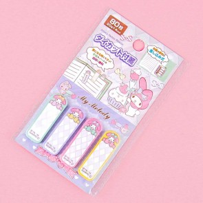 My Melody Plaid Sticky Notes Set
