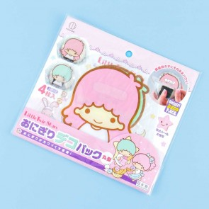 Little Twin Stars Onigiri Deco Pack
