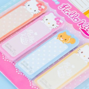 Hello Kitty Pastel Polka Dots Sticky Notes Set