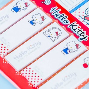 Hello Kitty Pastel Polka Dot Bow Sticky Notes Set