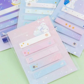 Constellation Bunny Sticky Notes Set
