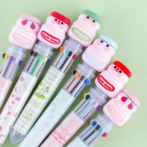 Happy Yogurt Drink 10-in-1 Multi-Color Pen