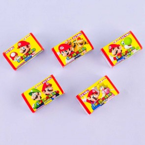 Coris Super Mario Gum Set - Grape - 5 pcs