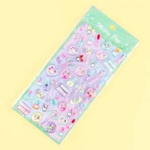 Milky Pop Puffy Stickers - Cosmetic Magic