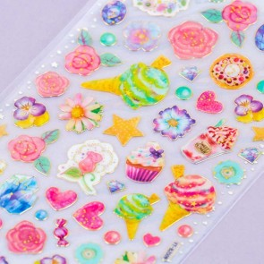 Lunar Tears Stickers - Ice Cream Blooms
