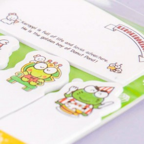 King Kerokero Keroppi Sticky Notes Set