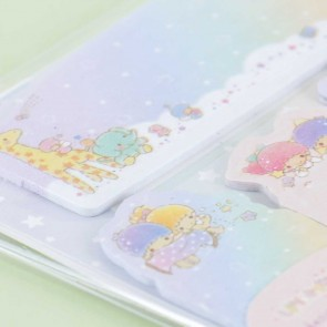 Little Twin Stars Rainbow Sky Sticky Notes Set