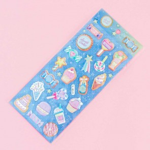 Constellation Sweets Puffy Stickers