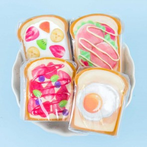 Breakfast Toast Eraser