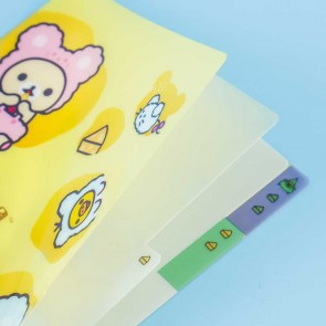 Rilakkuma Cheese Time A6 Folder