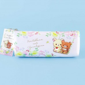 Korilakkuma Meets Chairoikoguma Soft Pencil Case