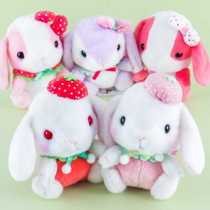 Pote Usa Loppy Strawberry Plushie - Medium