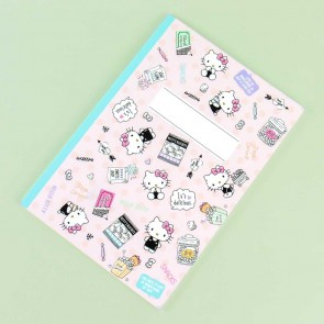 Hello Kitty Snack Time Grid Lined Notebook