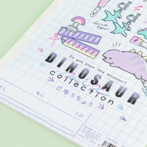 Dinosaur Collection Softbound Notebook