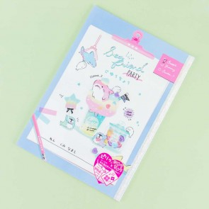 Sea Friend Party Softbound Notebook