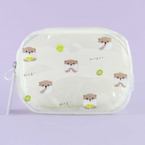 Mogyu Otters & Fruits Cosmetic Bag
