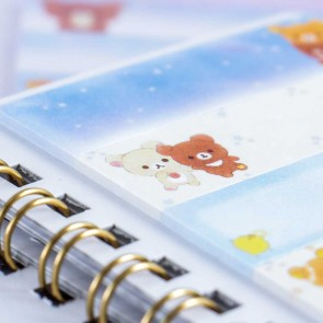 Rilakkuma Starry Night Sticky Notes Set