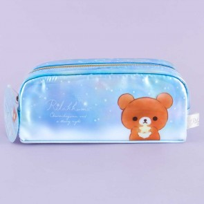 Chairoikoguma Starry Night Pencil Case