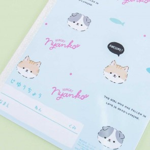 Hungry Nyanko Softbound Notebook