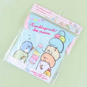 Sumikko Gurashi Ice Cream Time Drawstring Bag