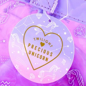Twilight Precious Unicorn Transparent Shoulder Bag