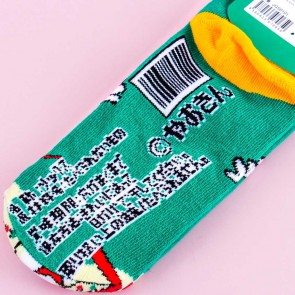 Umaibo Salad Cotton Socks