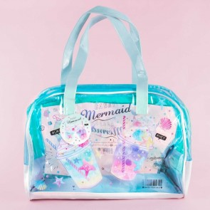 Candy Mermaid Shakes Transparent Shoulder Bag