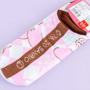 My Melody Floral Matsuri Cotton Socks