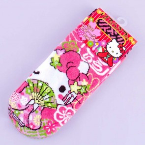 Hello Kitty Floral Maiko Socks
