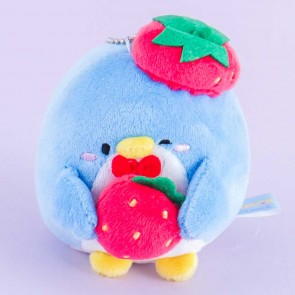 Tuxedosam Strawberry Plushie - Medium