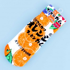 Marukawa Bubble Gum Cotton Socks - Orange