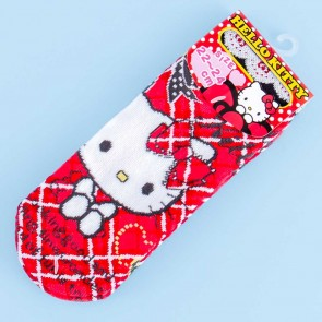 Hello Kitty Plaid Socks