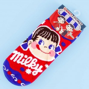 Milky Peko-Chan Patterned Socks