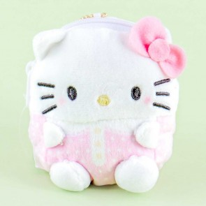 Hello Kitty Mini Pouch & Plushie Charm