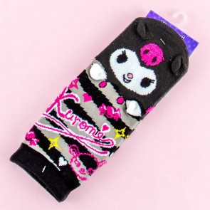 Kuromi Striped Cotton Socks