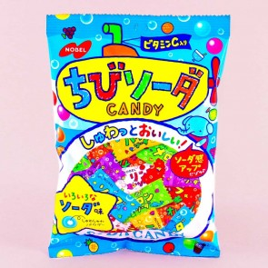 Nobel Chibi Candy - Assorted Fruit Soda