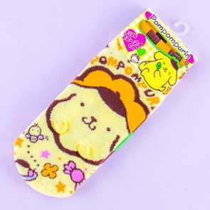 Happy Pompompurin Cotton Socks