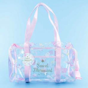 Sweet Mermaid Transparent Duffel Bag