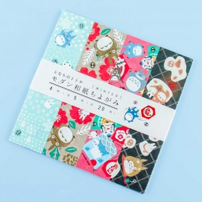 My Neighbor Totoro Washi Paper - Winter