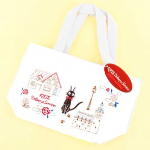 Kiki's Delivery Service Rose Town Embroidered Tote Bag