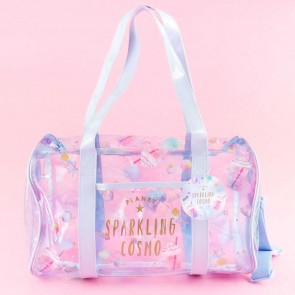 Planet Sparkling Cosmo Transparent Duffel Bag