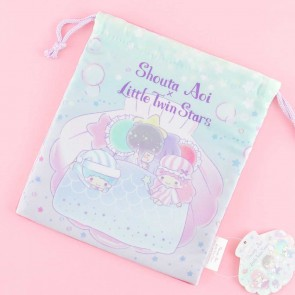 Little Twin Stars & Shouta Aoi Drawstring Bag