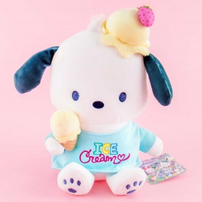Pochacco & Ice Cream Plushie - Medium